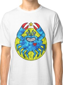 Blue Crab (Clouds) Classic T-Shirt