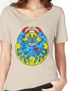 Blue Crab (Clouds) Women's Relaxed Fit T-Shirt