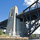 Sydney Harbour Bridge Supports by clearviewstock