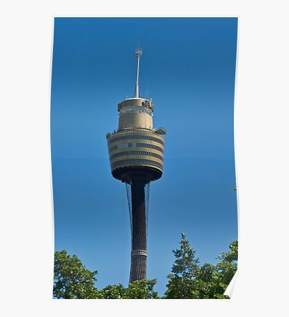Sydney Centrepoint Tower Poster
