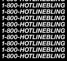 1-800-HOTLINEBLING | Best Quality | White by OGedits
