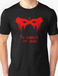 Your Fight Is Over (Trigedasleng)(Red+Black) T-Shirt