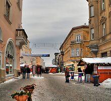 Street for pedestrians by zumi