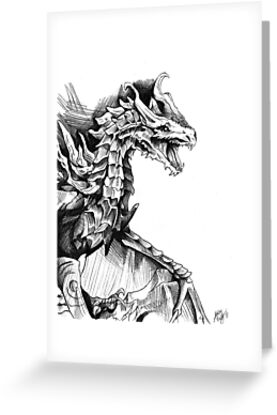 Alduin, the World Eater by ArtisticCole