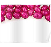 Pink Chocolate Eggs - Border Top Poster