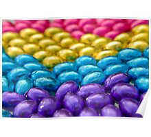 Coloured Chocolate Egg Collection Poster