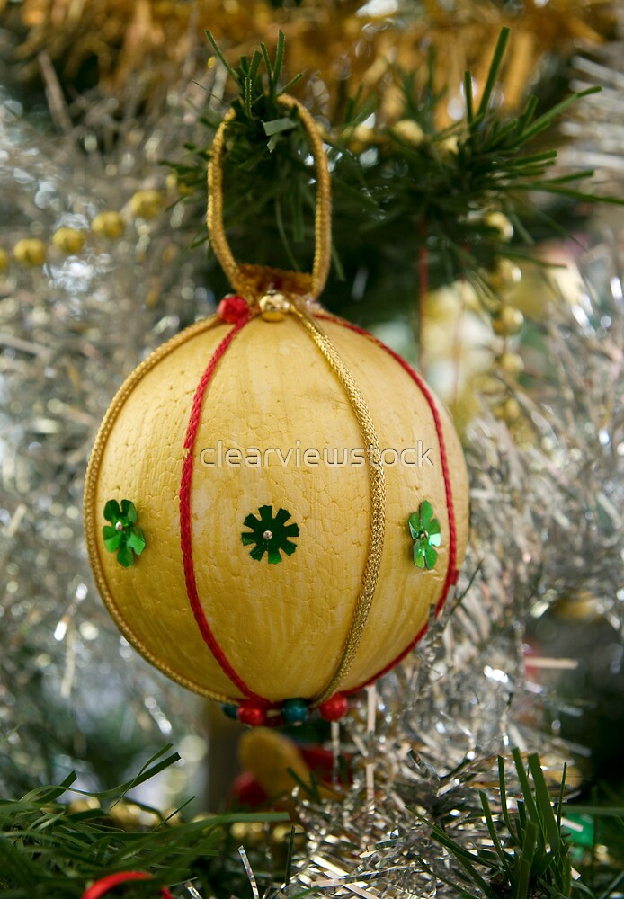 Handmade Christmas Decoration by clearviewstock