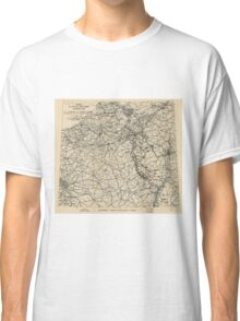 World War II Twelfth Army Group Situation Map February 26 1945 Classic T-Shirt