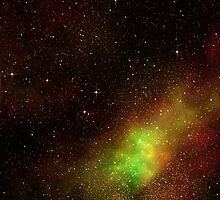 Nebula II with Stars by clearviewstock