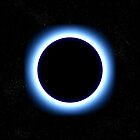 Blue Halo Eclipse by clearviewstock
