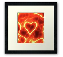 Heat of Passion Framed Print