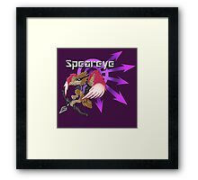 Speareye Framed Print