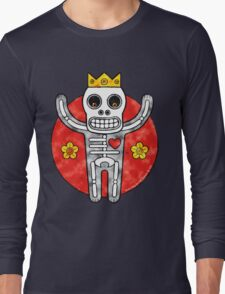 Bone King (Clouds) Long Sleeve T-Shirt