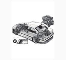 BMW M3 (e36) Cutaway