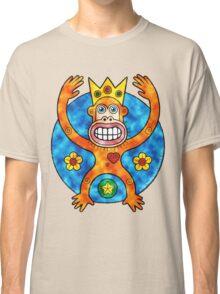 Orange Ape King (Clouds) Classic T-Shirt