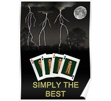 Four Aces Simply The Best Poster