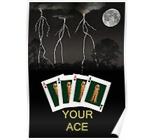 Four Aces Your Ace Poster