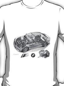 BMW M3 e46 Cutaway T-Shirt