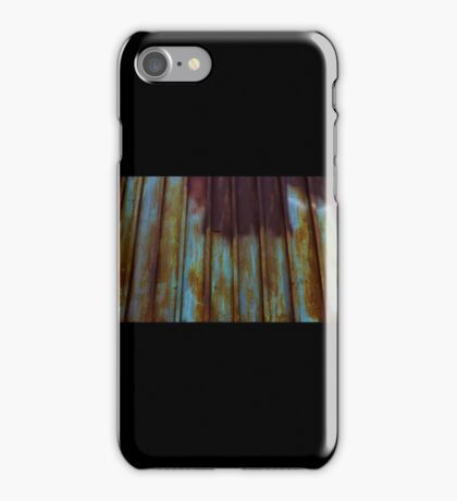 Rusted Houseguests Make Good Gates iPhone Case/Skin