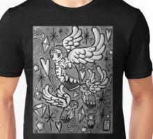 (b&w) Wings of Desire Unisex T-Shirt