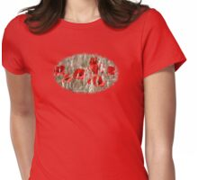 Poppies - JUSTART ©  Womens Fitted T-Shirt