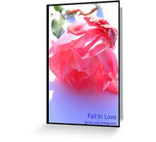 Fall in Love Greeting Card
