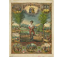 Gift for the Grangers by Strobridge & Co. Lith. (1873) Photographic Print
