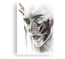 Thranduil - Partial Color Canvas Print