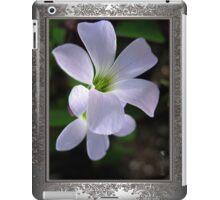 Oxalis Triangularis or Burgundy Shamrock iPad Case/Skin