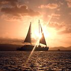 Sailing Sunset by sifa