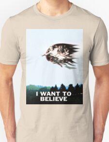 I want to believe...Richard Dawkins T-Shirt
