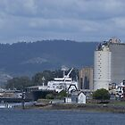 Goliath Berthed-Devonport by Cameron Lundstedt