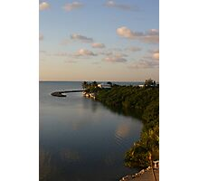 Perfect view, ocean home, landscape Photographic Print