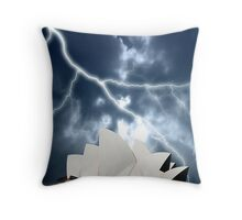 Lighting up the House Throw Pillow