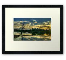 Spirits - Wonga Wetlands, Albury ,  Australia - The HDR Experience Framed Print