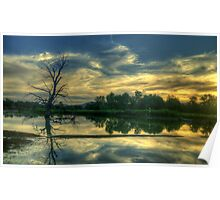 Spirits - Wonga Wetlands, Albury ,  Australia - The HDR Experience Poster