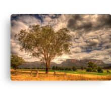 Sunburnt Country - The Capertee Valley, NSW Australia - The HDR Experience Canvas Print