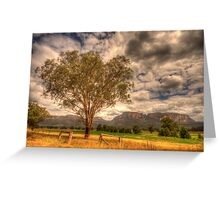 Sunburnt Country - The Capertee Valley, NSW Australia - The HDR Experience Greeting Card