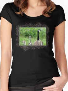 Canada Geese Women's Fitted Scoop T-Shirt