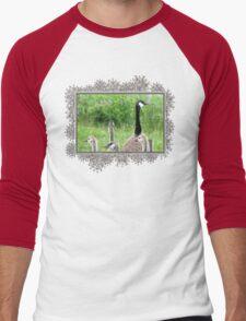 Canada Geese Men's Baseball ¾ T-Shirt