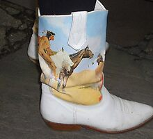 Cowboy? Boot by Karen Martin