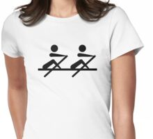 Rowing Womens Fitted T-Shirt