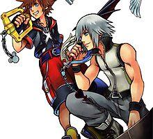 Kingdom Hearts: Sora x Riku by Kaidzuka