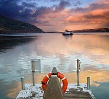 Dock on Loch by Gianluca Nuzzo