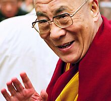 Kundun - The Dalai Lama of Tibet  by tim buckley | bodhiimages