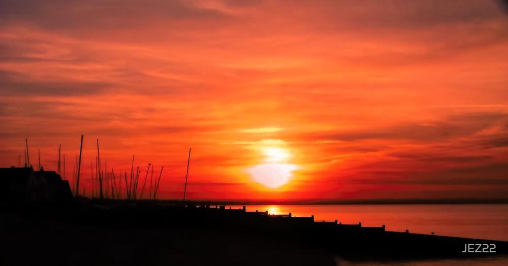 Sunset by JEZ22