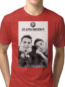 Go AOII Tri-blend T-Shirt