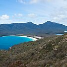 Wineglass Bay Panorama by Will Hore-Lacy