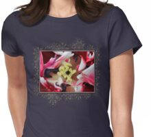 Double Late Peony-Flowered Tulip named Horizon Womens Fitted T-Shirt
