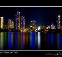 Surfers Paradise Skyline V2 by JonathanThomsen